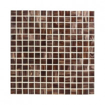 Jeffrey Court Sasparilla 12 in. x 12 in. x 4 mm Glass Mosaic Wall Tile