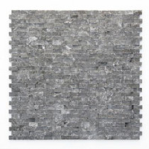Solistone Modern Madrid 12 in. x 12 in. x 9.5 mm Marble Natural Stone Mesh-Mounted Mosaic Wall Tile (10 sq. ft./Case)