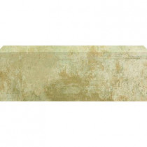 U.S. Ceramic Tile Argos 3-3/4 in. x 13 in. Beige Ceramic Bullnose Floor and Wall Tile-DISCONTINUED