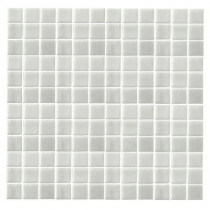 EPOCH Monoz M-Pearlecent-1405 Mosaic Recycled Glass 12 in. x 12 in. Mesh Mounted Floor & Wall Tile (5Sq.ft./Case)-DISCONTINUED