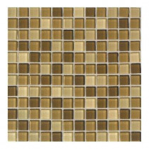 Daltile Maracas Lake Shores Blend 12 in. x 12 in. 8mm Glass Mesh Mount Mosaic Wall Tile (10 sq. ft. / case)-DISCONTINUED