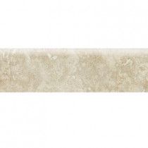 Daltile Heathland White Rock 3 in. x 12 in. Glazed Ceramic Floor and Bullnose Wall Tile