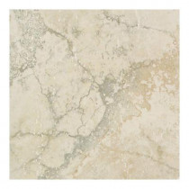Daltile Canaletto Bianco 13 in. x 13 in. Glazed Porcelain Floor and Wall Tile (16.72 sq. ft. / case)