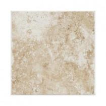 Daltile Fidenza Bianco 6 in. x 6 in. Ceramic Bullnose Wall Tile