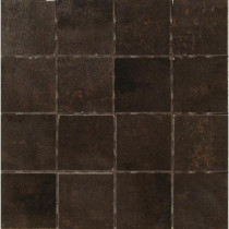 MARAZZI Vanity Black 12 in. x 12 in. Porcelain Mosaic Floor and Wall Tile-DISCONTINUED