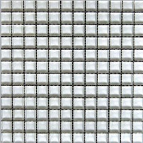 EPOCH Snowbird-1471 Mosaic Glass Mesh Mounted Tile - 3 in. x 3 in. Tile Sample