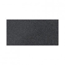 Daltile Colour Scheme Black Speckled 6 in. x 12 in. Porcelain Cove Base Corner Trim Floor and Wall Tile