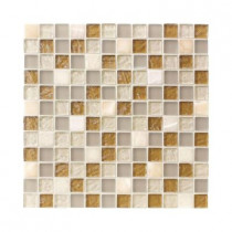 Jeffrey Court Onyx Studio 12 in. x 12 in. x 8 mm Glass Onyx Mosaic Wall Tile