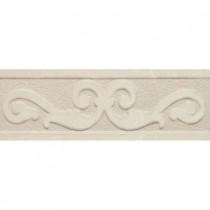 PORCELANOSA Listel Vento 4 in. x 8 in. Marfil Ceramic Trim Tile-DISCONTINUED