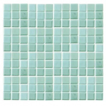 Epoch Architectural Surfaces Futurez Hendrix-3000 Glow In The Dark Mesh Mounted Floor & Wall Tile - 4 in. x 4 in. Tile Sample-DISCONTINUED