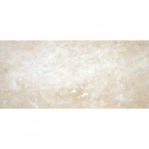 MS International Beige 12 in. x 24 in. Honed Travertine Floor and Wall Tile (8 sq. ft. / case)