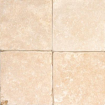 MS International Oasis Gold 4 in. x 4 in. Tumbled Limestone Floor and Wall Tile (1 sq. ft. / case)