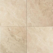 Daltile Travertine Baja Cream 16 in. x 16 in. Natural Stone Floor and Wall Tile (10.32 sq. ft. / case)
