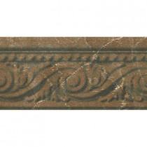 PORCELANOSA Listel Pisa 4 in. x 8 in. Pulpis Ceramic Accent Tile-DISCONTINUED
