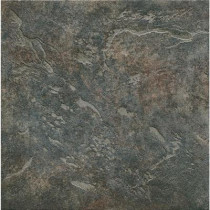 ELIANE Mt. Everest 12 in. x 12 in. Nero Porcelain Floor and Wall Tile-DISCONTINUED