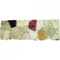 MS International Spanish Rock Strip 4 in. x 12 in. Marble Listello Floor and Wall Tile