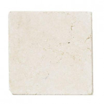 Jeffrey Court Giallo Sienna 6 in. x 6 in. Marble Floor/Wall Tile (1 pk / 4pcs-1 sq. ft.)