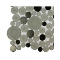 Splashback Tile Contempo Eskimo Pie Circles Glass Tile Sample