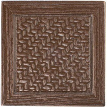 MARAZZI Montagna Bronze 2 in. x 2 in. Metal Resin Basketweave Decorative Floor/Wall Tile