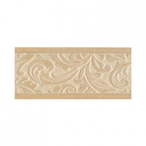 Daltile Brixton Sand 4 in. x 9 in. Ceramic Decorative Accent Wall Tile
