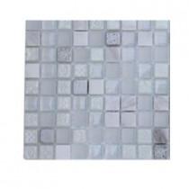 Splashback Tile Aztec Art Flour storm Glass Tile Sample