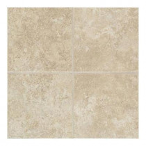 Daltile Castle De Verre Turret Beige 13 in. x 13 in. Porcelain Floor and Wall Tile (13.77 sq. ft. / case)-DISCONTINUED