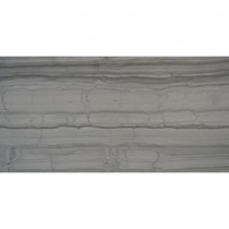 MS International Athens Grey 12 in. x 24 in. Polished Marble Floor and Wall Tile (10 sq. ft. / case)