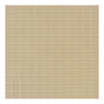 Daltile Maracas Morning Sun 12 in. x 12 in. 8mm Frosted Glass Mesh-Mounted Mosaic Wall Tile(10 sq. ft. / case)-DISCONTINUED