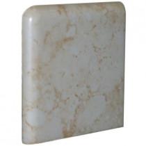 U.S. Ceramic Tile Fresno 3 in. x 3 in. Beige Ceramic Bullnose Corner Wall Tile-DISCONTINUED