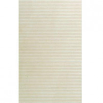 U.S. Ceramic Tile Avila Lines Blanco 12 in. x 24 in. Porcelain Floor and Wall Tile (14.25 sq.ft./case)-DISCONTINUED