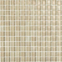 EPOCH Brushstrokes Chiarro-1502 Mosaic Glass Mesh Mounted - 4 in. x 4 in. Tile Sample-DISCONTINUED
