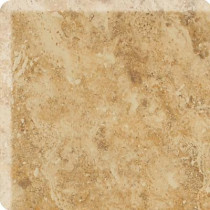 Daltile Heathland Amber 3 in. x 3 in. Glazed Ceramic Bullnose Corner Wall Tile