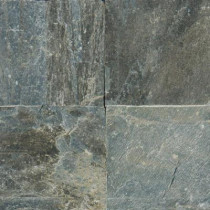 MS International Gold Green 12 in. x 12 in. Honed Quartzite Floor and Wall Tile (10 sq. ft. / case)
