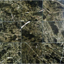 MS International 4 in. x 4 in. Emperador Cafe Marble Floor & Wall Tile-DISCONTINUED