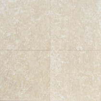 Daltile Natural Stone Collection Botticino Fiorito 12 in. x 12 in. Marble Floor and Wall Tile (10 sq. ft. / case)