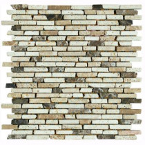 U.S. Ceramic Tile Nerva Stone 12 in. x 12 in. Natural Stone Floor and Wall Tile Mosaic-DISCONTINUED