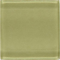Daltile Isis Kiwi 12 in. x 12 in. x 3 mm Glass Mesh-Mounted Mosaic Wall Tile