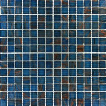 MS International Blue Iridescent Glass 12 in. x 12 in. x 4 mm Glass Mesh-Mounted Mosaic Tile