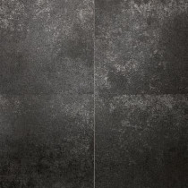 Daltile Metal Effects Radiant Iron 20 in. x 20 in. Porcelain Floor and Wall Tile (15.88 sq. ft. / case)-DISCONTINUED