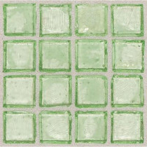 Daltile Egyptian Glass Palm 12 in. x 12 in. x 6 mm Glass Face-Mounted Mosaic Wall Tile