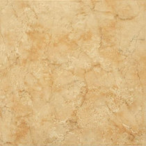ELIANE Illusione Caramel 16 In. x 16 In. Glazed Ceramic Floor & Wall Tile (16.15 sq. ft./Case)-DISCONTINUED