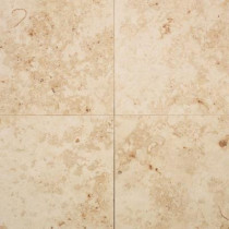Daltile Jurastone Beige 18 in. x 18 in. Natural Stone Floor and Wall Tile (13.5 sq. ft. / case)