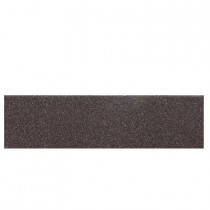 Daltile Colour Scheme City Line Kohl Speckled 3 in. x 12 in. Porcelain Bullnose Floor and Wall Tile-DISCONTINUED