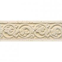 PORCELANOSA Listel Dore Botticino 8 in. x 3 in. Natural Ceramic Trim Tile-DISCONTINUED