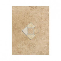 Daltile Brixton Mushroom 9 in. x 12 in. Ceramic Listello Wall Tile-DISCONTINUED