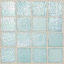 Daltile Egyptian Glass Oasis 12 in. x 12 in. x 6 mm Glass Face-Mounted Mosaic Wall Tile