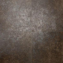 Daltile Metal Effects Brilliant Bronze 20 in. x 20 in. Porcelain Floor and Wall Tile (15.88 sq. ft. / case)-DISCONTINUED
