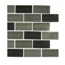 Splashback Tile Shade 1 in. x 2 in. Glass Tile Sample
