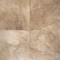 Daltile Portenza Terra di Siena 17 in. x 17 in. Glazed Porcelain Floor and Wall Tile (13.23 sq. ft. / case) - DISCONTINUED