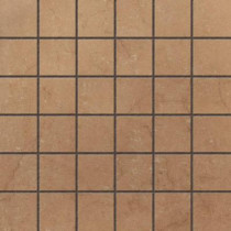 U.S. Ceramic Tile Murano Nocce 12 in. x 12 in. Glazed Porcelain Mosaic Floor & Wall Tile-DISCONTINUED